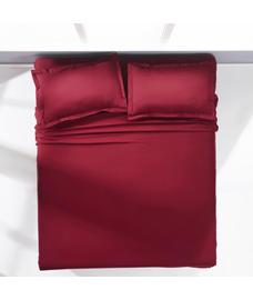 Supercale Sangria Bedsheet Super King Size