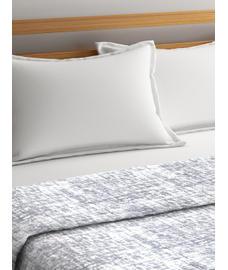 Imprints Blanket Grey Double Size