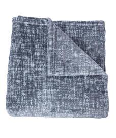 Imprints Grey Blanket Single Size