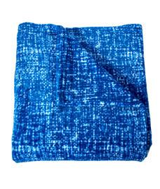 Imprints Blue Blanket Single Size