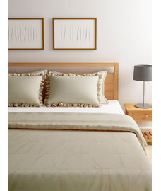 Just Us Classic Intimate Gold Duvet Cover King Size