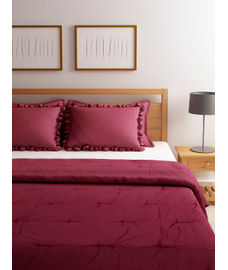 Just Us Classic Ruby Rose Duvet Cover King Size