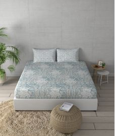 Facets Bedsheet Super King Size