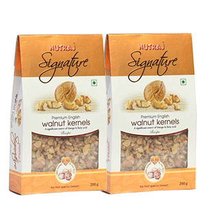 Nutraj Signature Royale English Walnut Kernels 200G (Pack Of 2)