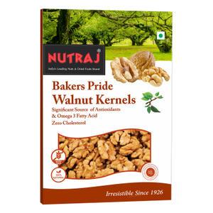 Nutraj Bakers Pride Broken Walnut Kernels 250 Gms  (6-8pcs Kernels)