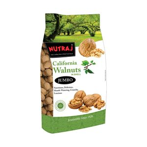 Nutraj Signature California Walnuts (With Shell), 1000g