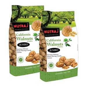 Nutraj Signature California Walnuts 1000G (Pack Of 2)