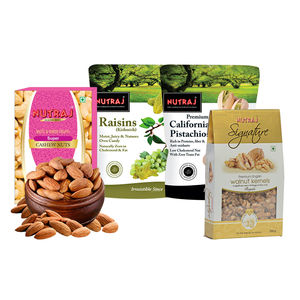 Nutraj Daily Need Combo (1850gm)-(Almonds, Raisins, Walnuts, Pistachios, Cashews)