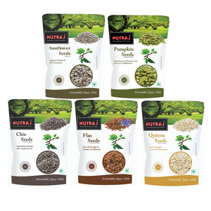 Nutraj Super Saver Pack 1000g (Chia seeds+sunflower Seeds+Flax SeedsPumpkin Seeds+Quinoa Seeds)