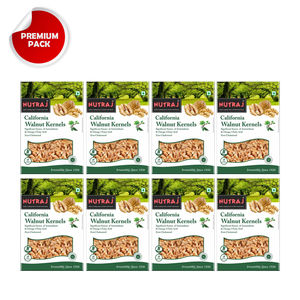 Nutraj California Walnut Kernels 250g (Pack of 8)