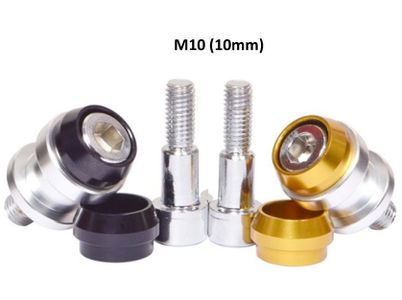 10 mm Bobbins / Spools Universal for Paddock - Dual Color Cap