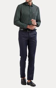 Green Checked Casual Shirt
