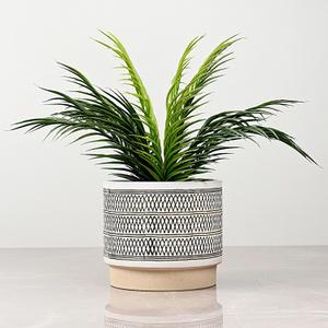 Large Ivory Ceramic Vase