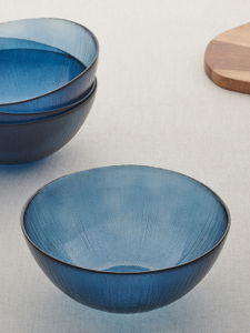 Set of 4 Blue small Bowl
