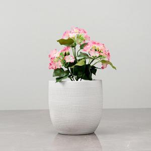 Cream Ceramic Mini Vase
