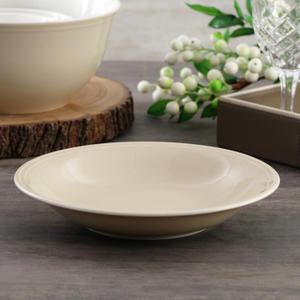 Beige Rhythm Soup Plate