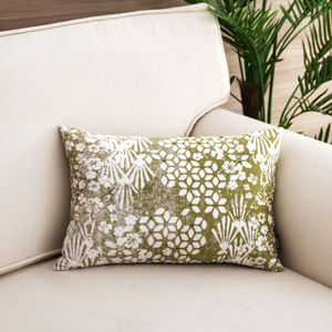 Elisha Green Cushion Cover