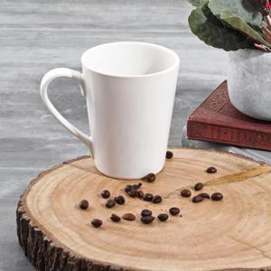 Set Of 6: Ivory Ariel Stoneware Mug