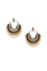 Multicolor Chandbali Earrings