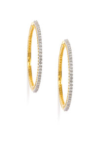 Oceane Gold Hoop Earrings