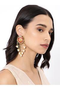 Pink Delicate Dangles Earring