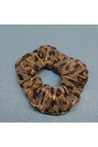 Tiger Printed Scrunchies
