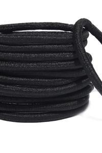 Basic Black Rubber Band Set