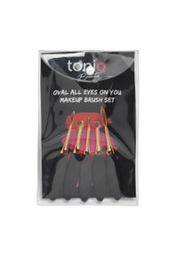 Oval All Eyes On You Makeup Brush Set