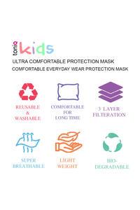 Unicorn Dreams Kids Face Mask- Set of 2 (3-6 years)