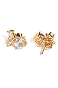 Gold Plated Floral Studs