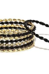 Kids - Gold & Black Bangles For Women (Set Of 8)