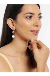 Multicoloured Teardrop Shaped Drop Earrings