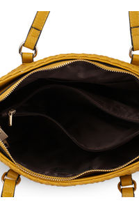 Tuscany Weave Trapeze Handbag