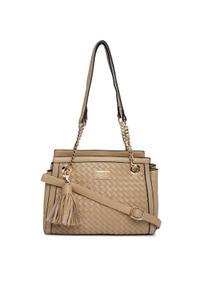 Ecru Weave Handbag
