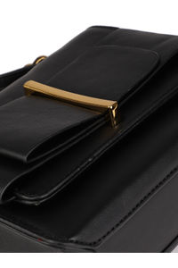 Ebony Black Messenger Bag
