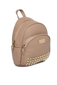 Ecru Stud On Backpack