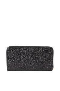 Black Glittery Glam Wallet
