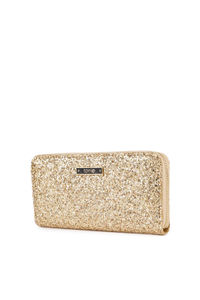 Gold Glittery Glam Wallet