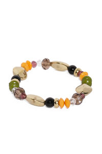 Multicolored Elastic Bracelet For Women