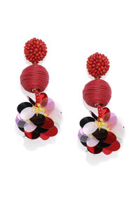 Multicolored Contemporary Drop Earring For Women