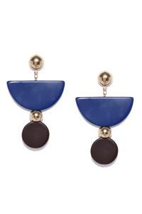 Geometrical Drop Earrings