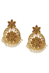 Gold-Toned Classic Drop Earrings