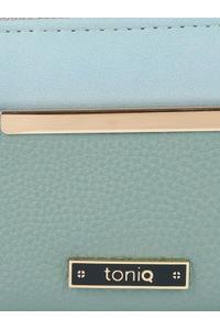 Blue Colorblock Wallet