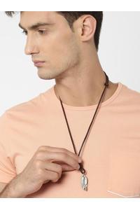 Men Brown Necklace