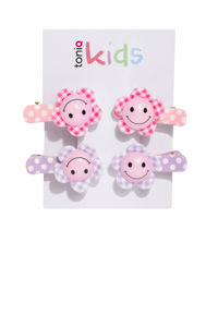 Set Of 4 Hair Clips