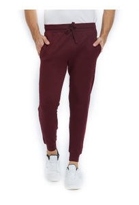 Solid Maroon Color Cotton Regular Fit Track Pant