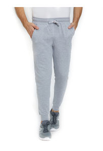 Solid Grey Color Cotton Regular Fit Track Pant