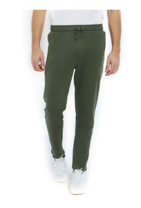 Solid Green Color Cotton Regular Fit Track Pant
