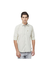 Integriti Men's Beige Shirt