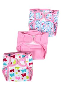 Mee Mee Reusable Baby Cloth Nappies (New Born)
